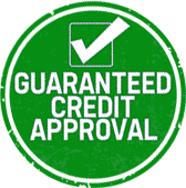Guaranteed Credit Approval Badge